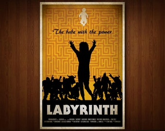 Labyrinth Poster (Multiple Sizes)