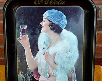 Vintage soda trays