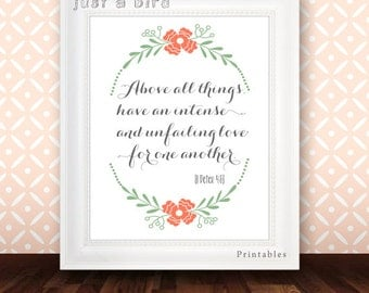 christian quote scripture print etsy