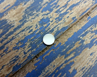 Aluminum 3/8 inch Round Stamping Blanks - 14G Aluminum
