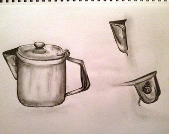 Little Metal Teapot