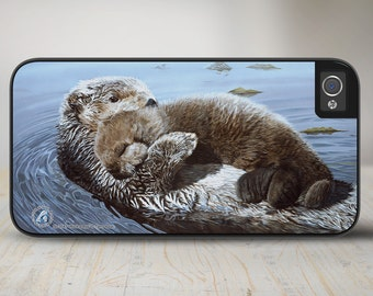 "50-3541 ""Rock a Bye"" Otter iPhone 5 Case, iPhone 5s Case, iPhone 4/4s Case Protective Phone Cases"