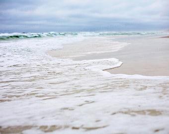 Ocean Sky Sea Water Beach Florida Photo Photography Print 8x10