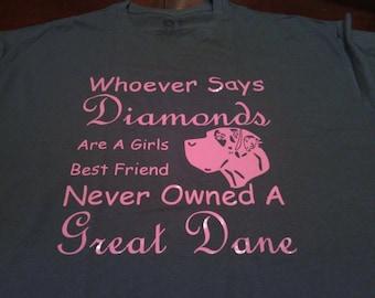Great Dane custom made shirts!