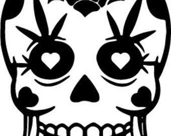 Sugar Skull 2 - Outdoor Vinyl