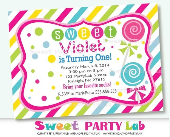 free candyland invitation template 28 images 111 best images