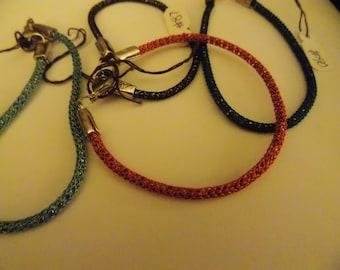 "7"" Silversilk bracelet"