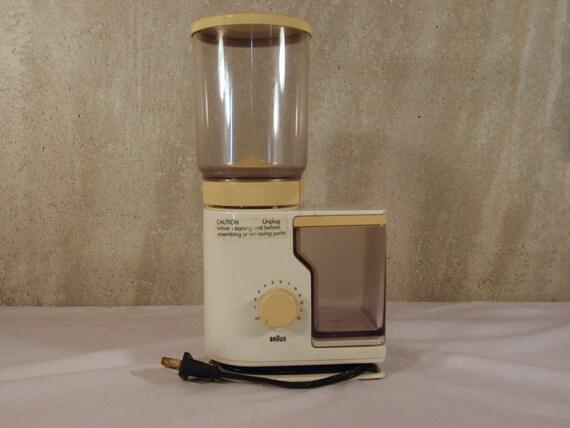 moulin pices caf lectrique vintage braun ag 4045 par. Black Bedroom Furniture Sets. Home Design Ideas