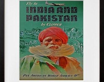 India Art Wall Print Cultural Travel Poster (TR46)