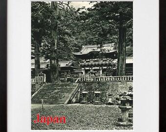 Japan Travel Poster Japanese Wall Art Print (ZT296)