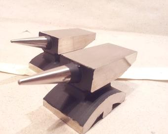 Mini jeweler silversmith blacksmith single horn Anvil gooldsmith small tool