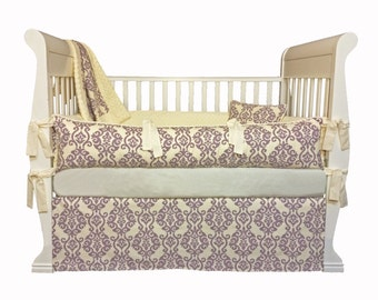 Luminary Lilac Crib Baby Bedding