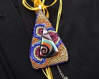 Cosmic Swirl pendant