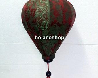 Set of 4 HOI AN Vietnam Silk Lanterns for WEDDING Party Decor - Home Decor - wholesale silk lanterns