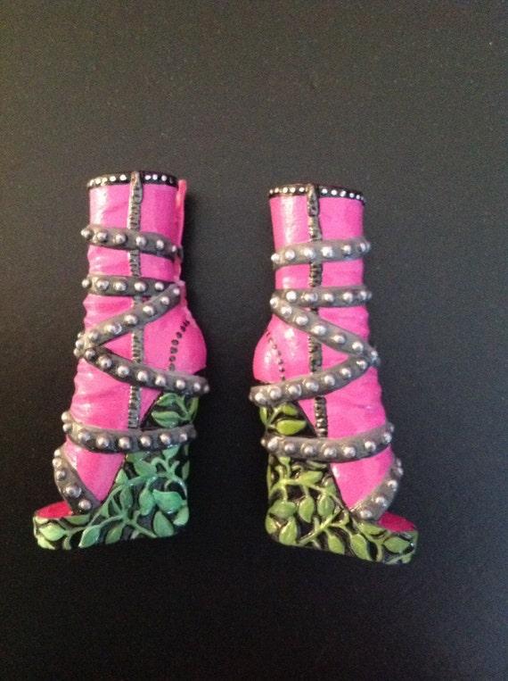 Custom Monster High Doll Shoes