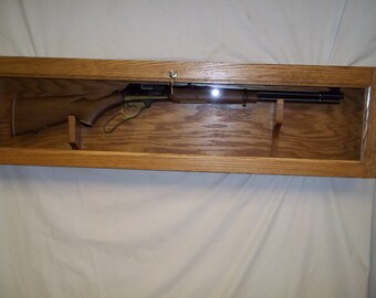 Locking Wall Display Gun Case