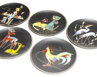 1 Ruscha Keramik Mid century West Germany Fat Lava Ceramic 70s Wall Plate 23 different ones pop art