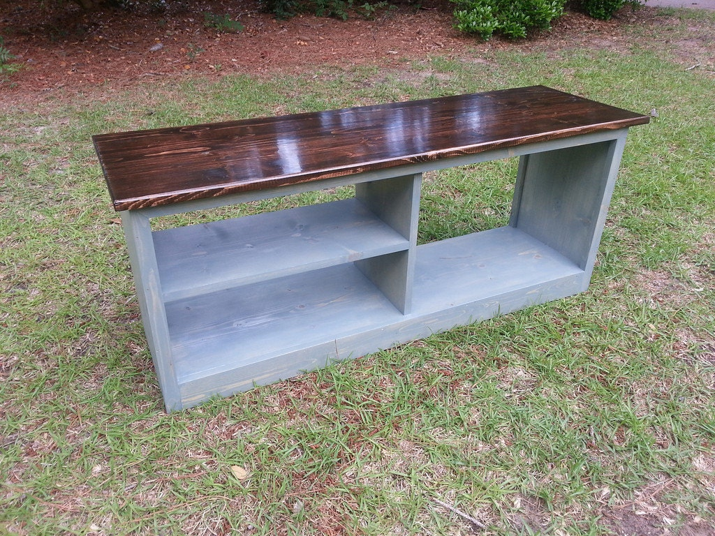 Rustic Modern Shoe Bench Boot Bench By Coastaloakdesigns