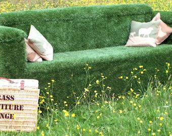 Artificial Grass Sofa