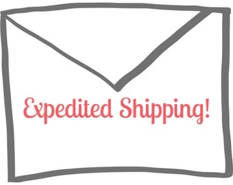 Expedited Shipping - 2 Day Priority!