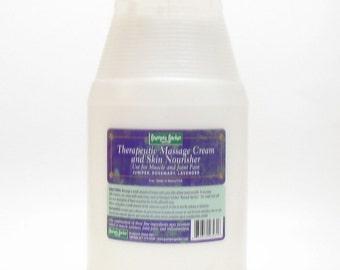 Therapeutic Massage Cream (64 oz.) by Grampa's Garden