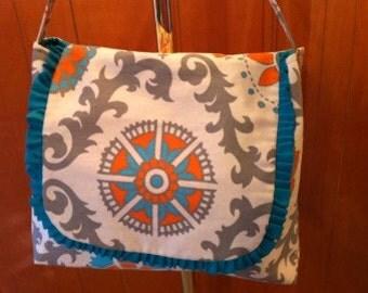 Trendy Medallion Print Diaper - Tote bag