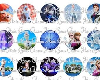 disney movie Frozen Bottle caps