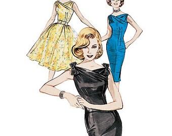 Butterick Pattern B6582 Misses' Dress & Belt
