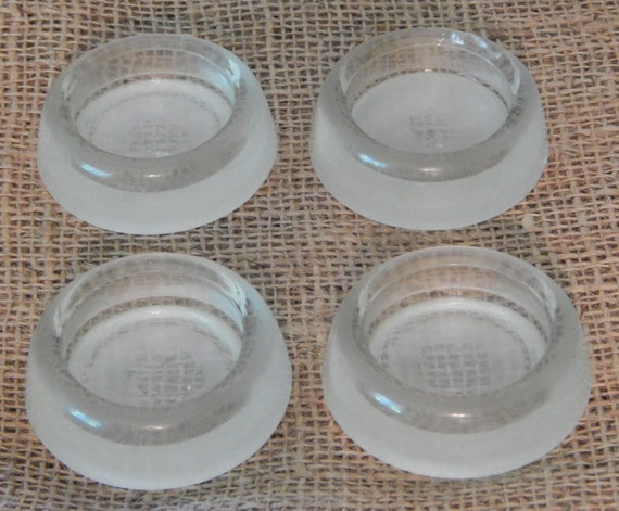 Glass Furniture Leg Coasters