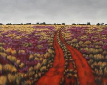 "1 print, "" Tibooburra landscape 1 "", limited edition"