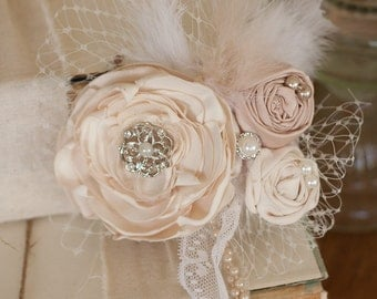 Custom Designed Vintage Inspired Wedding Hair Accessory