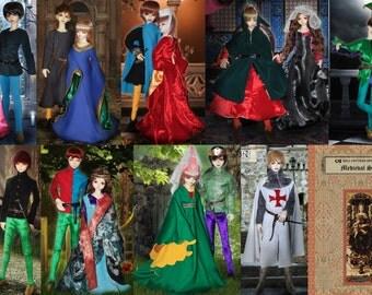 BJDs Pattern Book Special--Medieval Costume