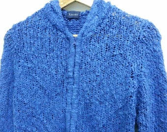 sale Vintage Basiqu Knitt Cardigan Sweater Pull Over jacket(For Women)
