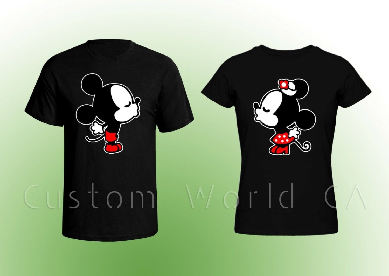 Mickey And Minnie Couples Shirts Chandeliers & Pend...