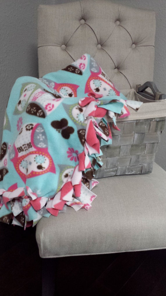 Baby Boy Fleece Tie Blanket no Sew Fleece Tie Blanket Baby