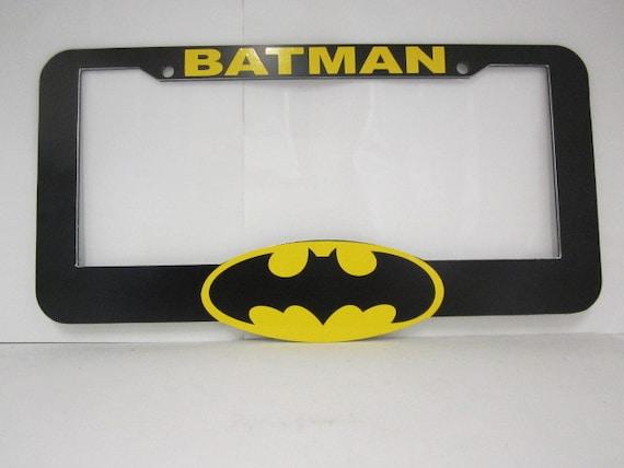 Batman License Plate Frame