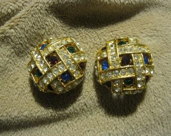 Clip on fashion earrings.