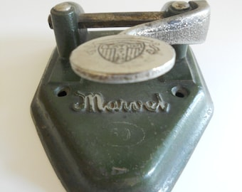 Marvel 60 Cast Iron Two-Hole Puncher
