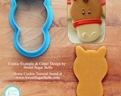 Horse by Sweet Sugar Belle Cookie Cutter & Fondant Cutter - Tutorial Link Below