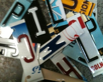 License plate letters, license plate art - proceeds support people with developmental disabilites