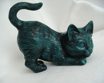 Cat, painted ceramic (392)