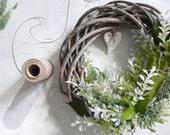 Provencal gray-green wreath.