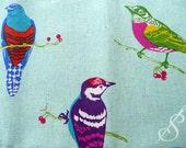 Echino Fabrics: Birds
