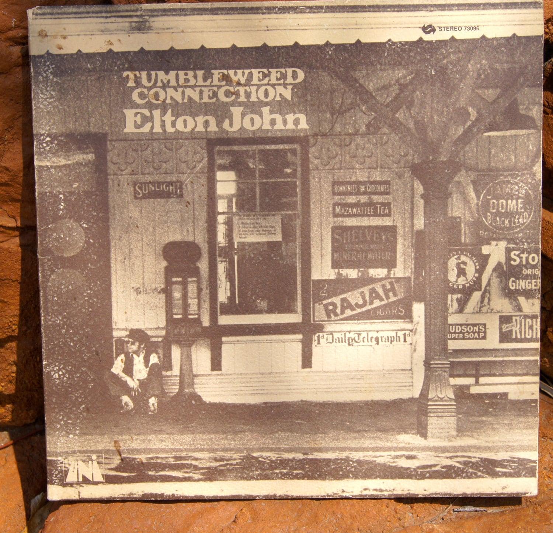 Tumbleweed Connection Elton John Vinyl Lp Record Amp By Antigos