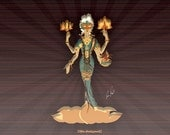 The Goddess of Luck...