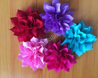 Fabric Flowers, Wholesale Flower, Hair Bow Supplies, Diy Supplies