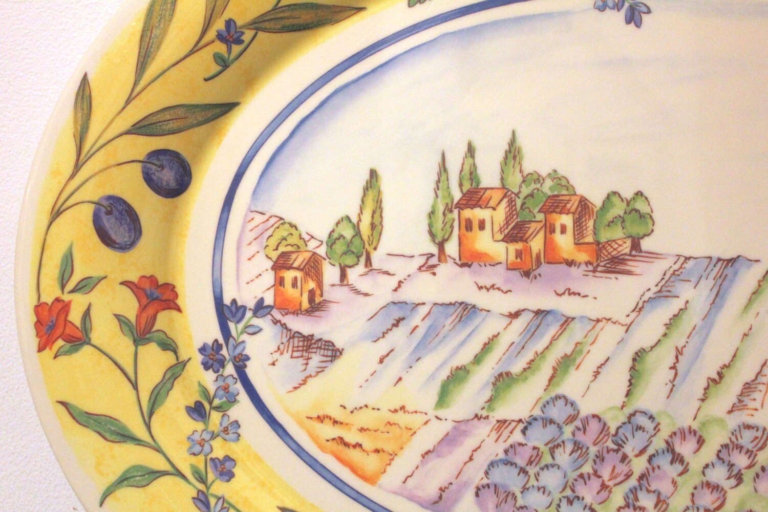 Large Precidio Exclusive Melamine Serving Tray With By