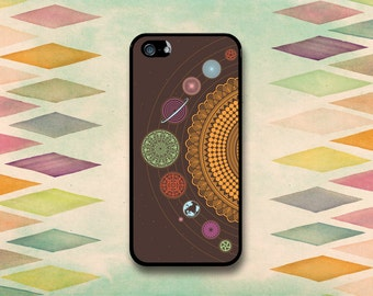 Fun Spirograph Planet Case: iPhone 4 // 4s, 5c or 5 // 5s