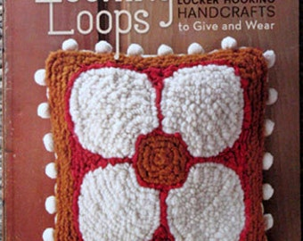 Book - Locking Loops -Locker Hooking patterns and instructions