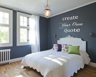 Create your own unique vinyl wall decal for your home or office. Custom Vinyl Decal stickers